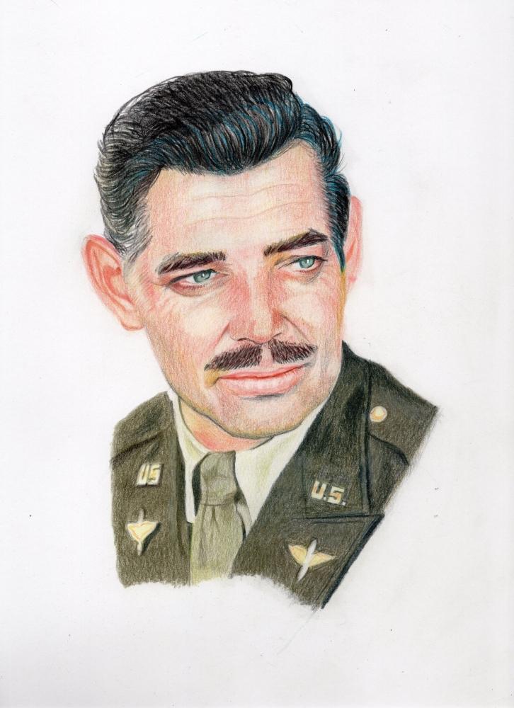 Clark Gable by davido53
